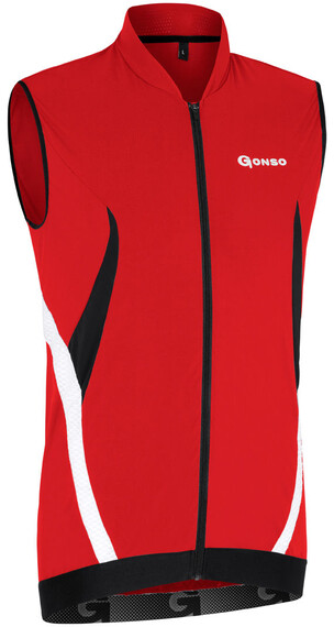 Gonso Grischa - Maillot manches courtes Homme - rouge